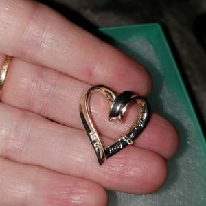 none Jewelry - Inscribed Sterling silver heart, with 26 in chain